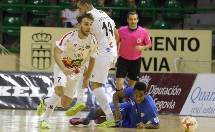 El Naturpellet Segovia ya está en cuartos de final de la Copa del Rey