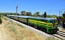Un tren histórico nos visita el domingo