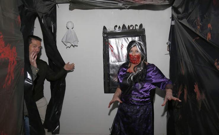 Palencia se transforma en la noche de Halloween
