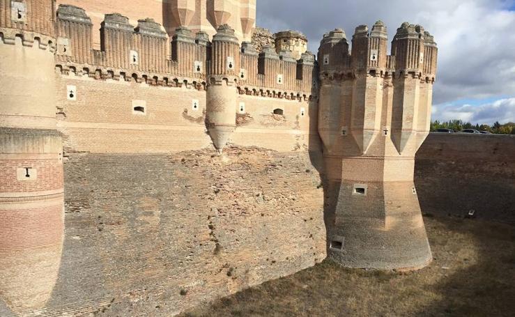 El castillo de Coca necesita una restauración
