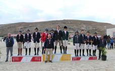 La Hípica Camino Viejo de Valladolid, oro por equipos en el regional de salto