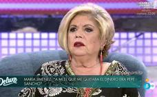 María Jiménez le recuerda a Milá Ximenez, a la cara, que se acostó con Pepe Sancho