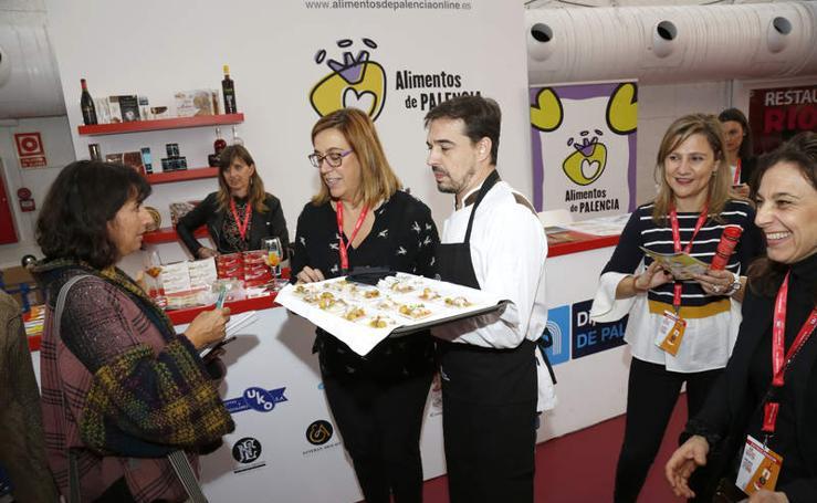 Alimentos de Palencia, protagonista del Concurso Internacional de Pinchos