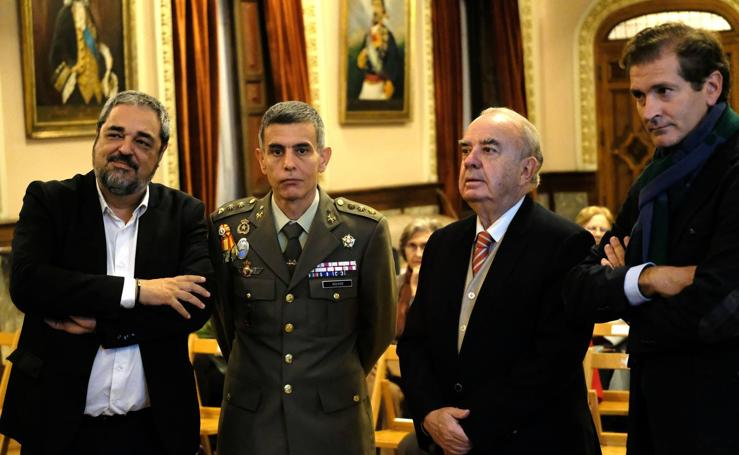 José Varela Ortega, en el Aula de Cultura de El Norte de Castilla
