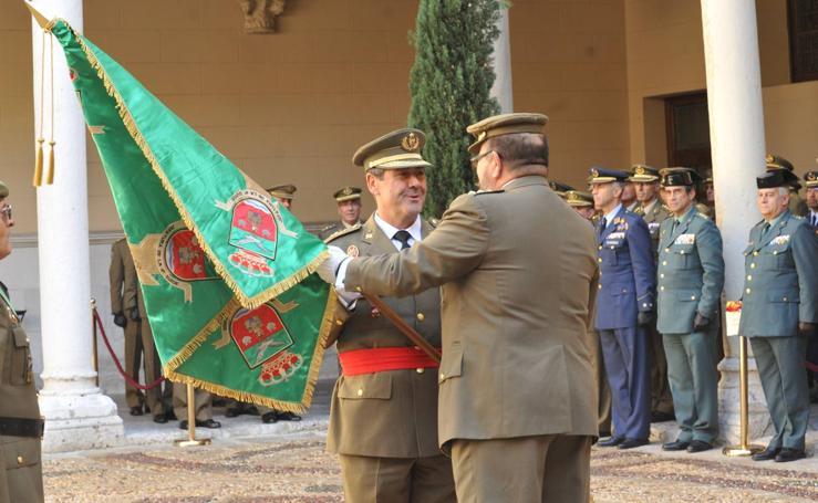 El general de Brigada José Rivas Moriana toma posesión de la Jefatura de la IV Subinspección General del Ejército de Tierra