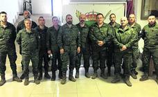 La aportación de la base de Santovenia al contingente español destinado en El Líbano