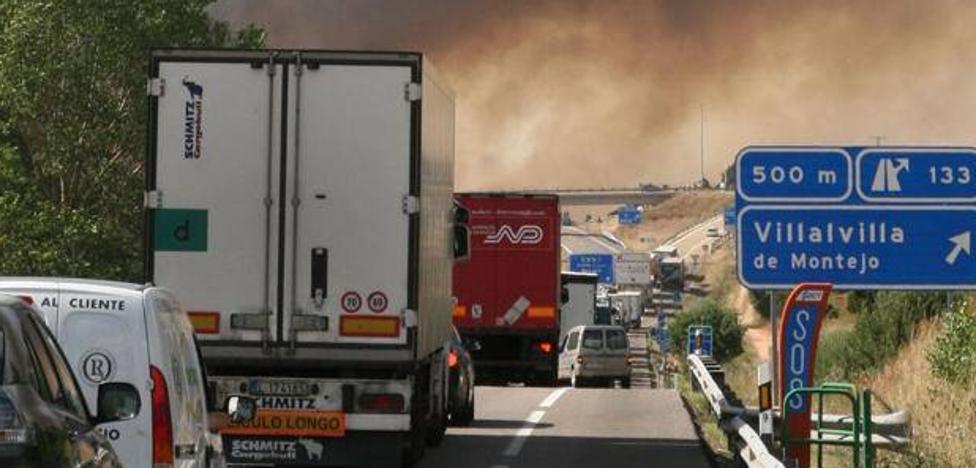 En dos días arden dos camiones en la A-1 a solo 15 kilómetros de distancia