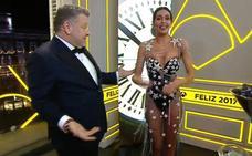 Cristina Pedroche, satisfecha con su vestido para las Campanadas