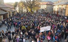 3.000 personas se manifiestan en Vellilla contra el cierre de la Térmica