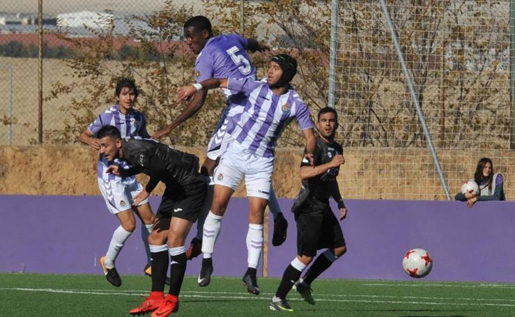 Real Valladolid B 1 - 2 San Sebastián de los Reyes