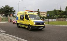 Herido al salirse de la carretera en Villaeles de Valdavia
