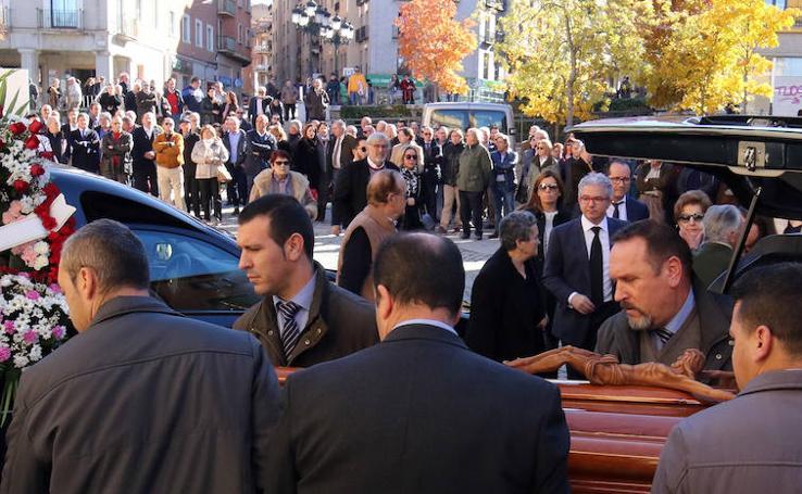 Funeral de Octaviano Palomo en Segovia