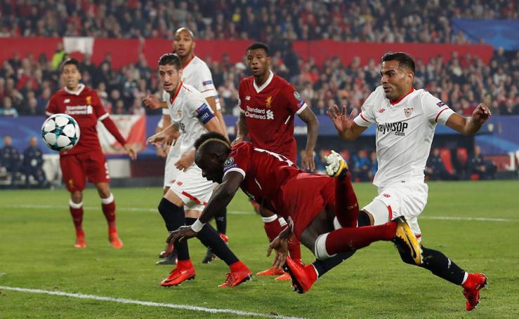 Las mejores imágenes del Sevilla-Liverpool