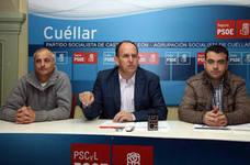 El PSOE pide a la Junta 3,6 millones de euros más para la comarca de Cuéllar