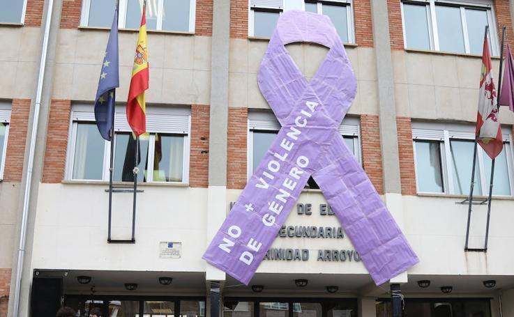 Actos contra la violencia de género en el IES Trinidad Arroyo