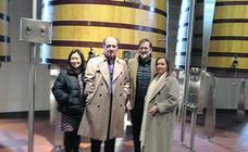 Mariano Rajoy visita Vega Sicilia por primera vez