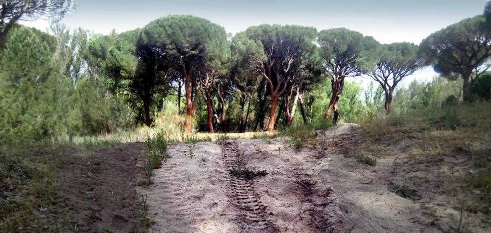 Terractua condena la trampa con cable en un sendero y el mal uso de motos y quads
