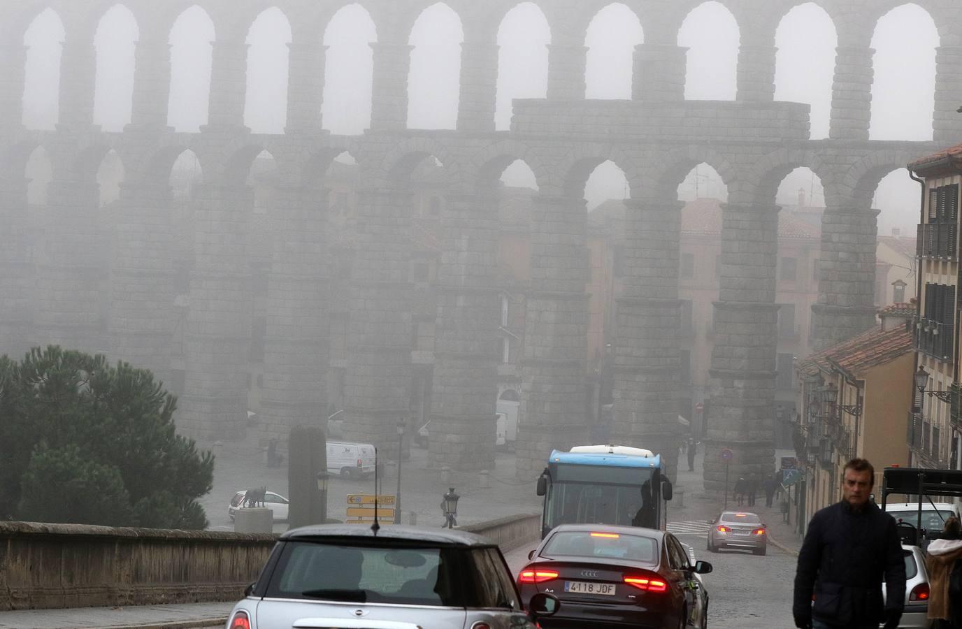 Jornada de frío en Segovia