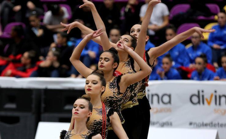 Arranca este fin de semana la competición de Gimnasia Rítmica en el Polideportivo Pisuerga