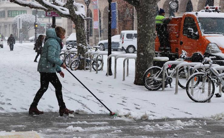 Las mejores imágenes de la nevada