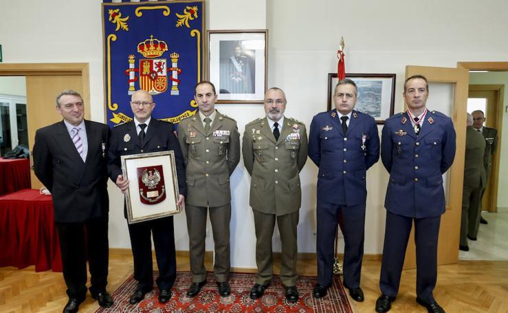Actos de Homenaje en la subdelegación de Defensa en Salamanca