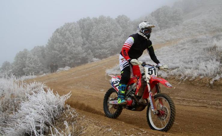 Campeonato de motocross celebrado hoy en Torquemada