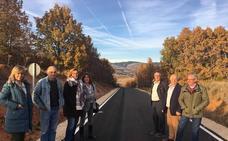 Mejora de la carretera de Cornón de la Peña a Villaoliva