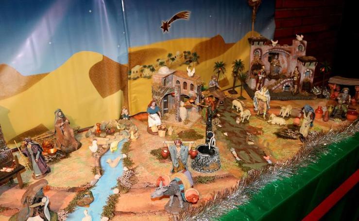 Exposición de belenes en Ampudia