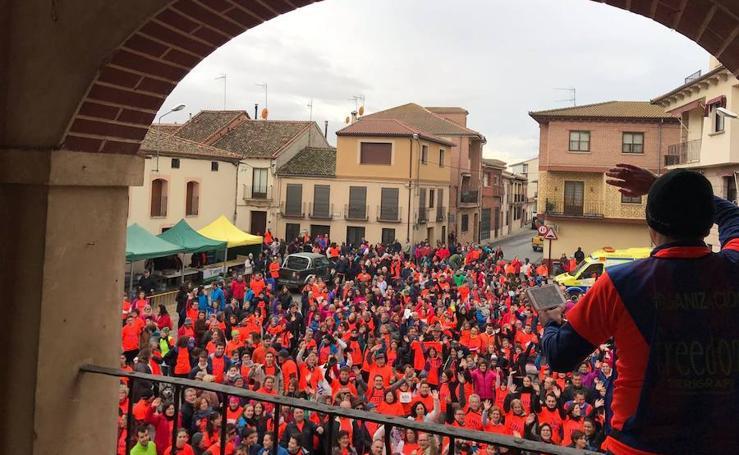 Marcha solidaria en Mozoncillo