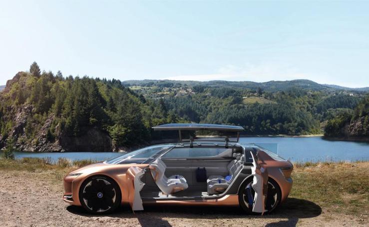 Nuevo coche autónomo de Renault