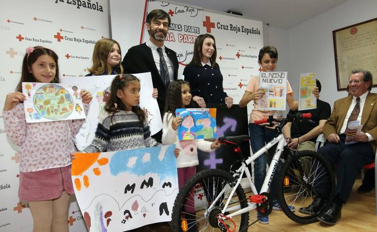Entrega de premios del I Certamen de talentos de Cruz Roja de Segovia