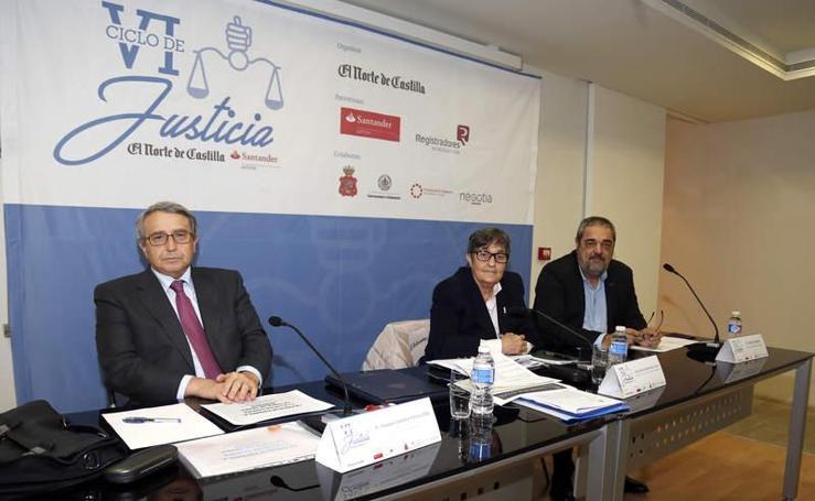 Ciclo de la Justicia organizado por el Norte de Castilla en Palencia