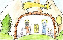 Más de 200 dibujos participan en el concurso de postales navideñas de la Diputación