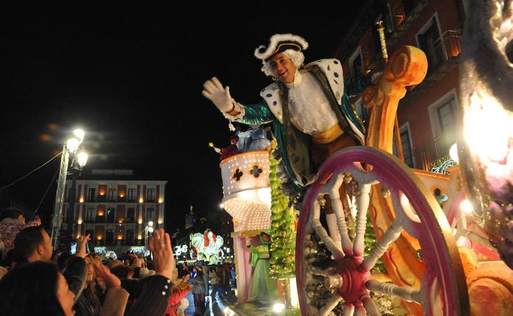Cabalgaza de Papá Noel en Valladolid
