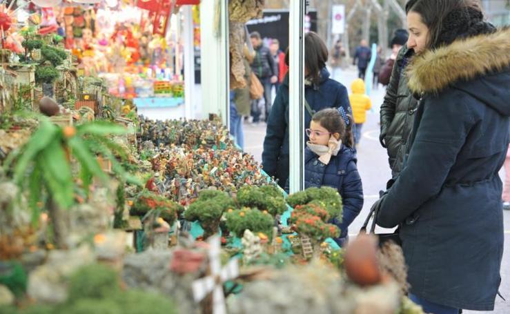 Ambiente navideño en Valladolid