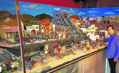 El bar Simo's presenta un Belén con las escenas más representativas
