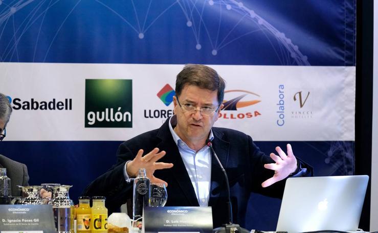 Luis Huete, en el Foro Económico de El Norte de Castilla