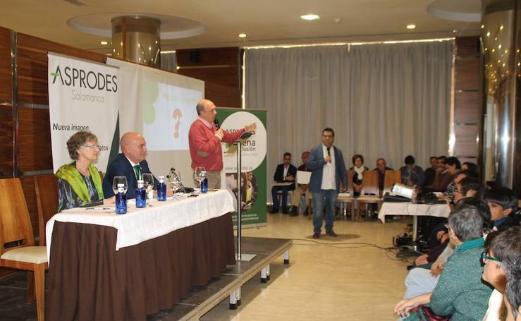 Asamblea anual de Asprodes en Salamanca