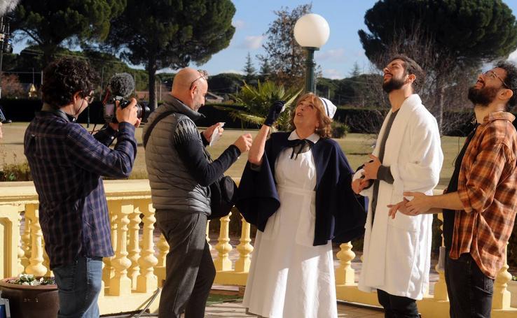 Medina del Campo acoge el rodaje del anuncio navideño de Campofrío