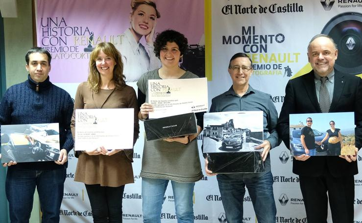 Entrega de los premios del concurso de relatos y fotografía 'Una historia con Renault'