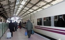 La estación de Valladolid congrega al año a 1,7 millones de viajeros de alta velocidad