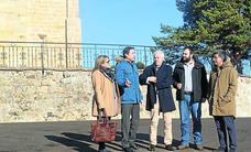La Junta acondiciona los entornos de la iglesia de Santa Cecilia de Aguilar