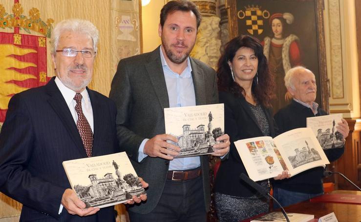 Presentación del libro 'Valladolid de cine y teatro'