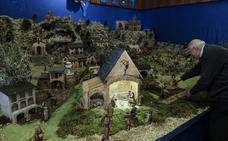Los franciscanos recrean la ciudad de Belén al más mínimo detalle