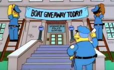 Arrestan a 21 delincuentes en el Reino Unido gracias a Los Simpson