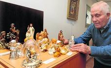 Rueda expone más de medio centenar de belenes del mundo