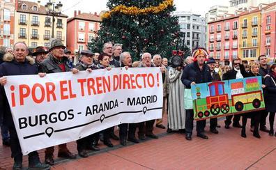Los burgaleses vuelven a la calle tras el jarro de agua fría del ministro sobre el Directo
