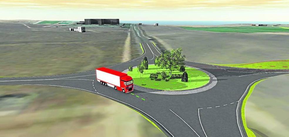La A-6 y la nueva estación del Ave de Medina estarán enlazadas por una circunvalación