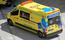Dos heridos en un accidente de tráfico en Fuentesoto