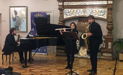 El grupo A-Trio ofrece el tradicional Concierto de Año Nuevo del Casino de la Unión